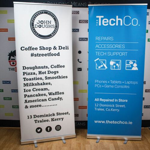 The Brand Geeks Pull Up Banners
