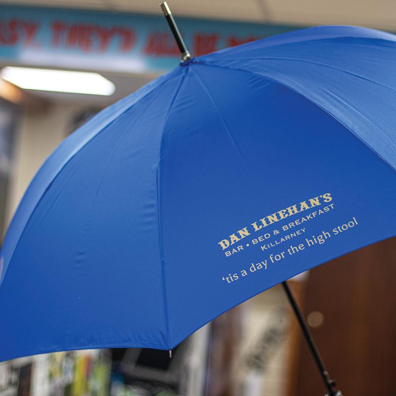Blue Branded Umbrella